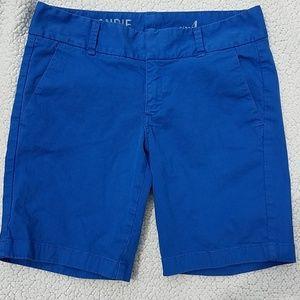 J.Crew Andie shorts sz 4 royal blue